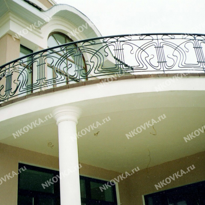 ковка на большой балкон