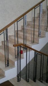 дизайнерская кованая лестница