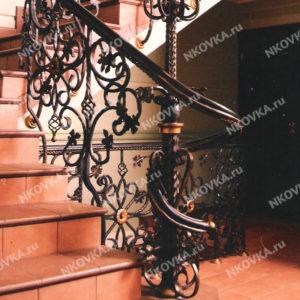 ковка на винтовую лестницу