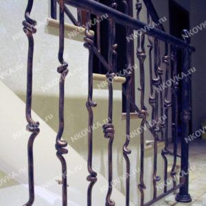 лестница современная ковка