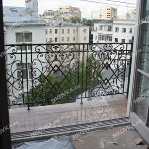 ковка на балконе