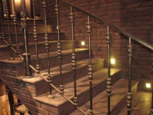 кованая лестница лофт