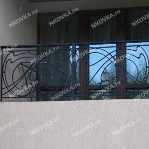 кованый балкон модерн