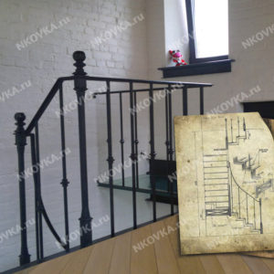лестница лофт