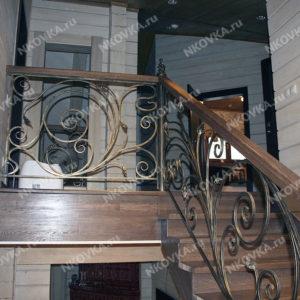легкая кованая лестница