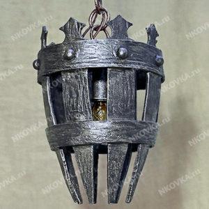 """кованый светильник """"под старину"""""""