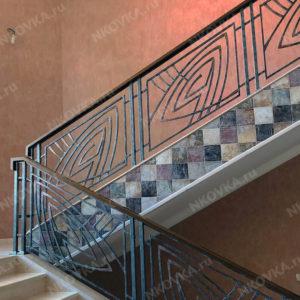 кованая лестница модерн