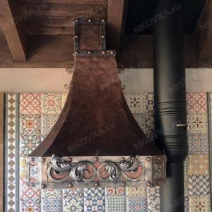кованая вытяжка для кухни