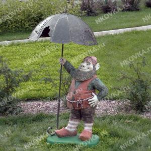 кованый зонтик