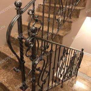 лестница легкая ковка