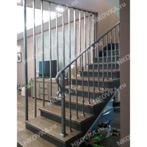 кованая лестница и ограждения